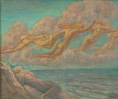 Жан Дельвиль. Облачная картина (Нарисуй мне облака)