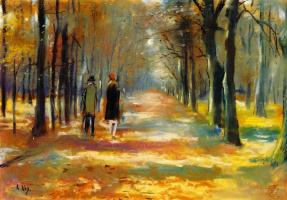Lesser Uri. Walk in the woods