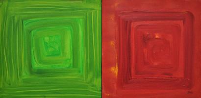 Елена Бабинец. Диптих Henri Matisse», з циклу Люди, які вплинули на мене FilosofoArt