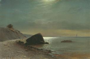 Михаил Александрович Алисов. Лунная ночь на море