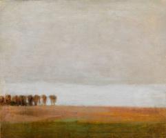 Вильгельм Хаммерсхёй. Пейзаж к северу от Копенгагена