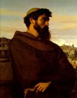 Александр Кабанель. Монах