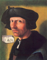 Якоб  Корнелис ван Оостсанен. Портрет мужчины