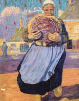 Робер Делоне. Женщина с хлебом