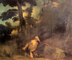 Тициан Вечеллио. Святой Иероним