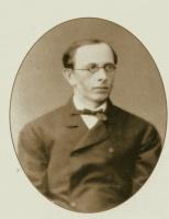 Алексей Петрович Боголюбов. Фотографический портрет Победоносцева