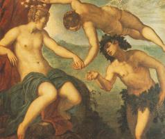 Якопо Тинторетто. Ариадна, Венера и Вакха