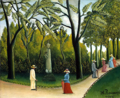 Анри Руссо. Люксембургский сад