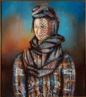 Alexander Grigoryevich Tyshler. Portrait Of Anastasia Tyshler Stepanovny
