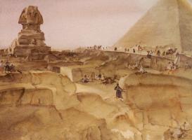 Уильям Рассел Флинт. Сувенир из Египта
