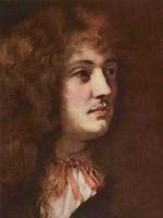 Karel Skreta. Portrait of a young man