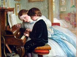 Чарльз Уэст Коп. Урок музыки