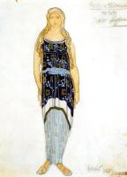 Lev Samoilovich Bakst (Leon Bakst). Costume design for the tragedy of Phaedra