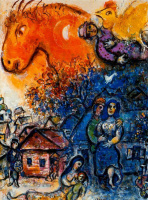 Marc Chagall. Joy in the village