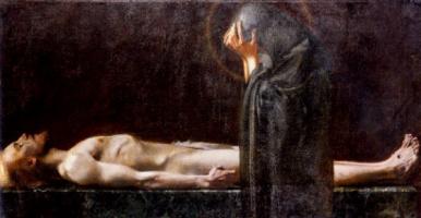 Franz von Stuck. Mourning
