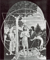 Пьеро делла Франческа. Иоанн Креститель и Христос