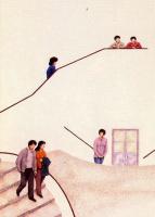 Дионисио Бланко. Спускаясь по лестнице