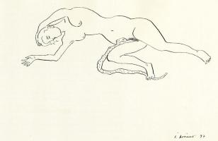 Хуан Сориано. Женщина со змеей