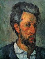 Поль Сезанн. Портрет Виктора Шоке