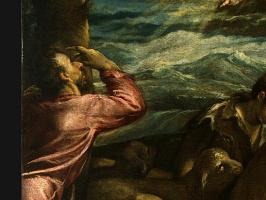 Якопо да Понте Бассано. Весть пастухам (фрагмент)