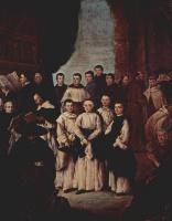 Пьетро Лонги. Групповой портрет венецианских монахов