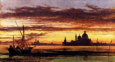 Эдвард Уильям Кук. Красивый закат