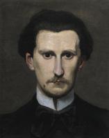 Фредерик Базиль. Фрагмент портрета мастера  Эдмонда