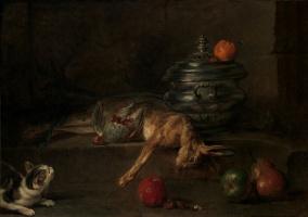 Jean Baptiste Simeon Chardin. Still life with silver Turin