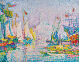 Paul Signac. La Corne d'Or. Matin