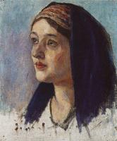 Василий Иванович Суриков. Голова Марии
