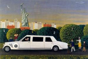 Оскар Демеджо. Белый автомобиль