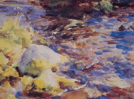 Джон Сингер Сарджент. Размышления скалы и воды