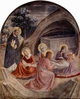 Фра Беато Анджелико. Цикл фресок доминиканского монастыря Сан Марко во Флоренции, сцена: Положение во гроб