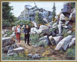 Эндрю Кисс. Прогулка в горах