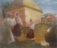 Петр Стовбуненко. Поп в селе