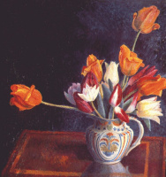 Дора Каррингтон. Тюльпаны в кувшине