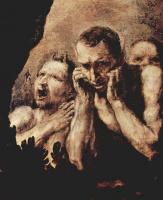 Хосе де Рибера. Аполлон и Марсий. Деталь