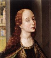 Рогир ван дер Вейден. Святая Екатерина