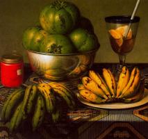 Стоун Робертс. Натюрморт с бананами