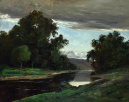 Гюстав Курбе. Пейзаж