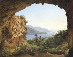 Сильвестр Феодосиевич Щедрин. Грот Матроманио на острове Капри