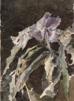 Mikhail Aleksandrovich Vrubel. Orchid. Etude