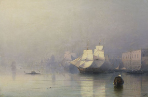 Ivan Constantinovich Aivazovski. Morning in Venice (Venice in the fog)