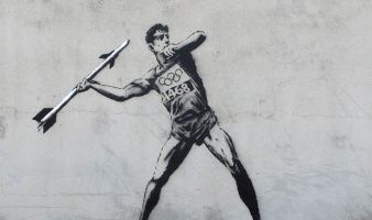 Banksy. Olympic Series 3
