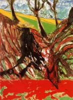 Фрэнсис Бэкон. Эскиз портрета Ван Гога