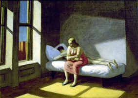 Edward Hopper. Summer in the city