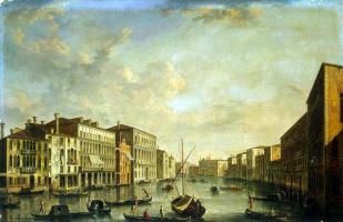 Франческо Тирони. Вид Большого канала