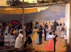 Рамон Касас Карбо. Dancing
