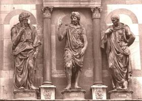 Леонардо да Винчи. Проповедь Святого Иоанна