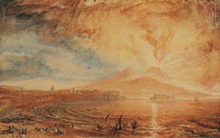 Joseph Mallord William Turner. The Bay Of Naples